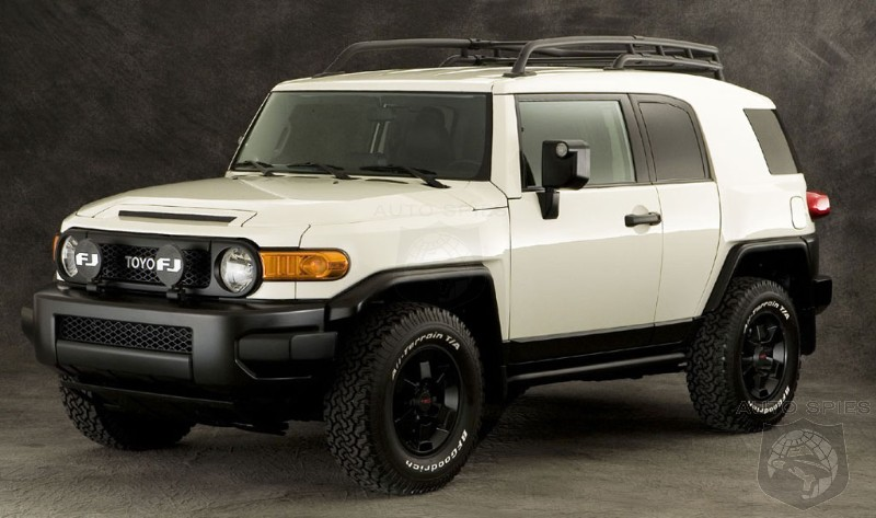 2008 Toyota FJ Cruiser Trail Teams Price Released